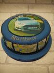 car print cake